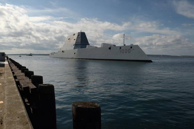 Эсминец Zumwalt получит более дешевые снаряды типа «Экскалибур»