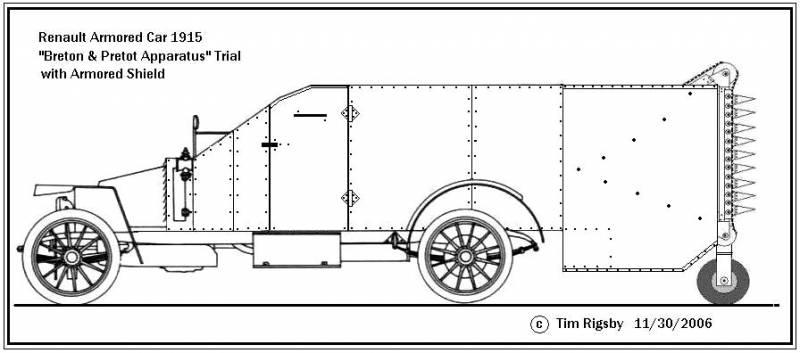 Проект инженерной машины Breton-Prétot Apparatus (Франция)