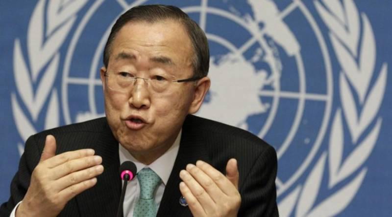"""Пан Ги Мун назвал """"синонимом ада"""" Алеппо после освобождения города от террористов"""