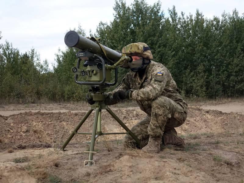 На Украине прошли очередные испытания ракетного комплекса «Корсар»