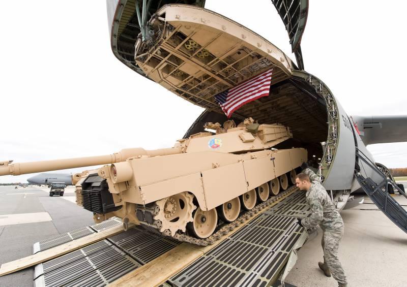 NBC: американские танки возвращаются в Европу из-за «напористой России»