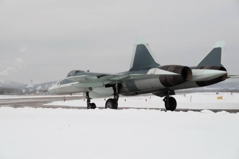 Первые фото Т-50-8
