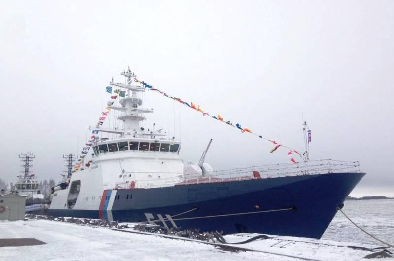 Корабль «Полярная Звезда» принят в состав Береговой охраны