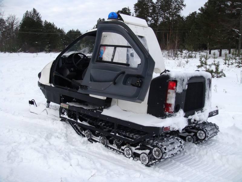 Снегоход с закрытой кабиной ТТМ-1901 «Беркут 2»