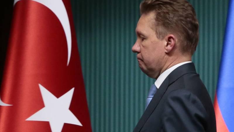 Турция национализировала активы Газпрома