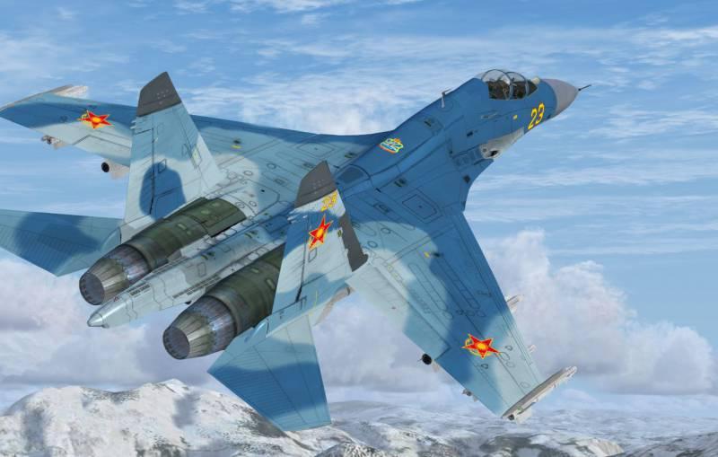 Разбился Су-27 ВВС Казахстана