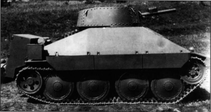 Огнеметный танк PM-1, второй вариант (Чехословакия)