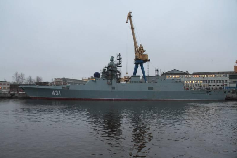 «Адмирал флота Касатонов» в достройке на «Северной верфи» (фото)