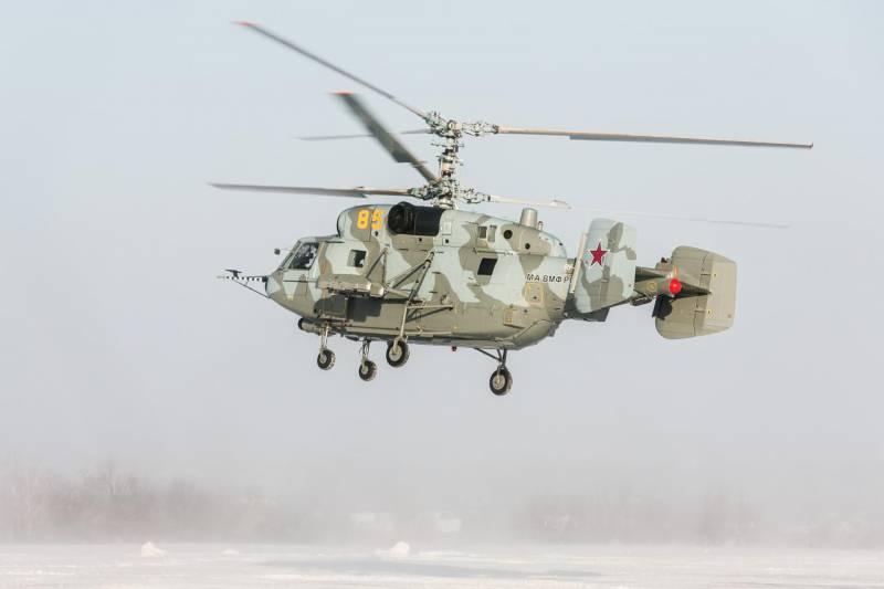Партия отремонтированных Ка-29 передана ВМФ РФ