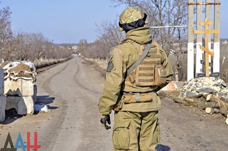 Украинские войска предприняли попытку прорыва линии обороны на юге ДНР