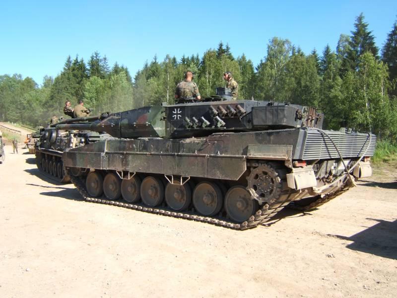 Немецкий основной боевой танк Leopard 2: этапы развития. Часть 7