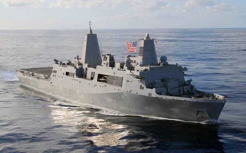 В США построят 12-й десантный корабль типа «Сан-Антонио»