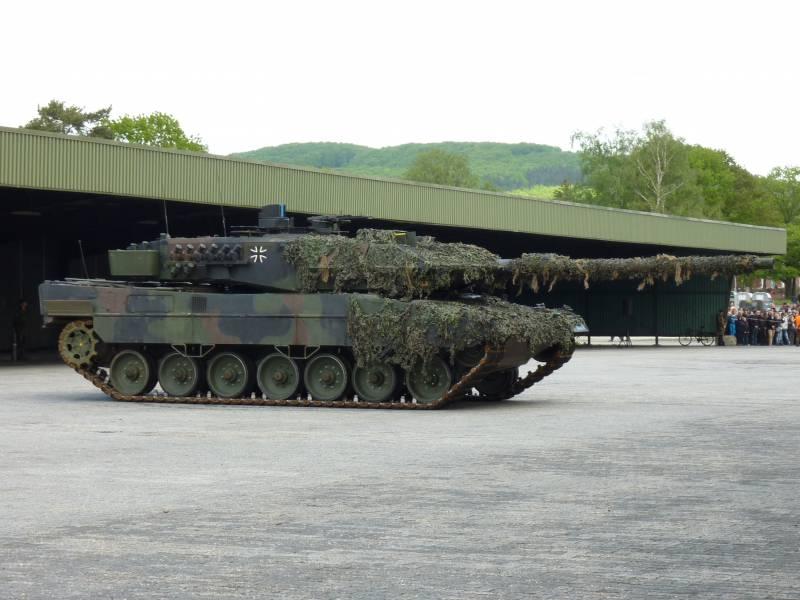 Немецкий основной боевой танк Leopard 2: этапы развития. Часть 8
