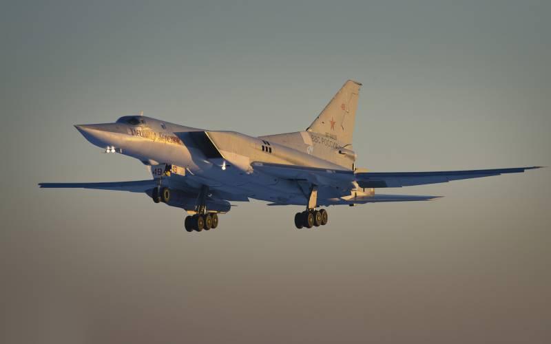 В этом году Ту-22М3 после долгого перерыва отработали минирование морских зон