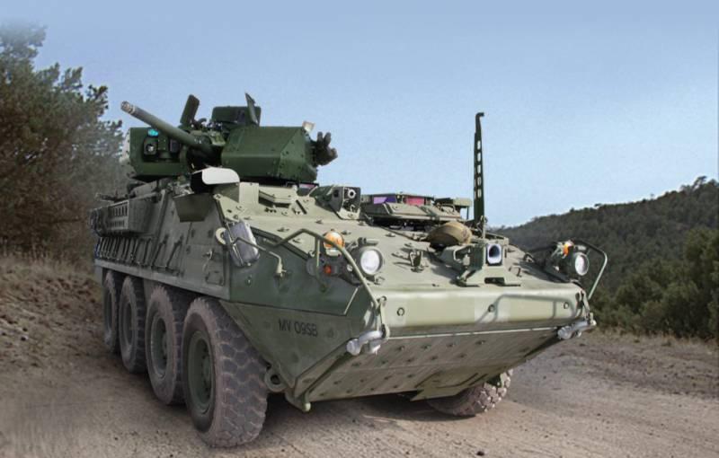 Армия США получила первую партию модернизированных БТР Stryker
