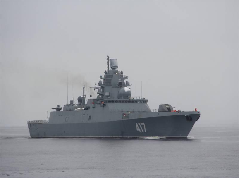 «Адмирал Горшков» войдет в состав флота в первой половине 2017 г