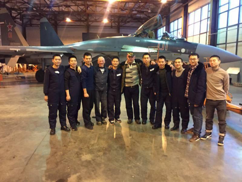 Первая партия Су-35 поставлена в Китай
