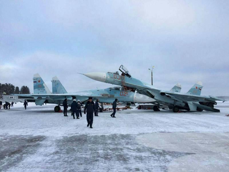 Авария на военном аэродроме Хотилово