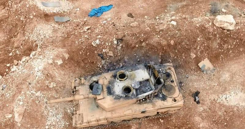 Турецкие боевые потери под сирийским городом Эль-Баба