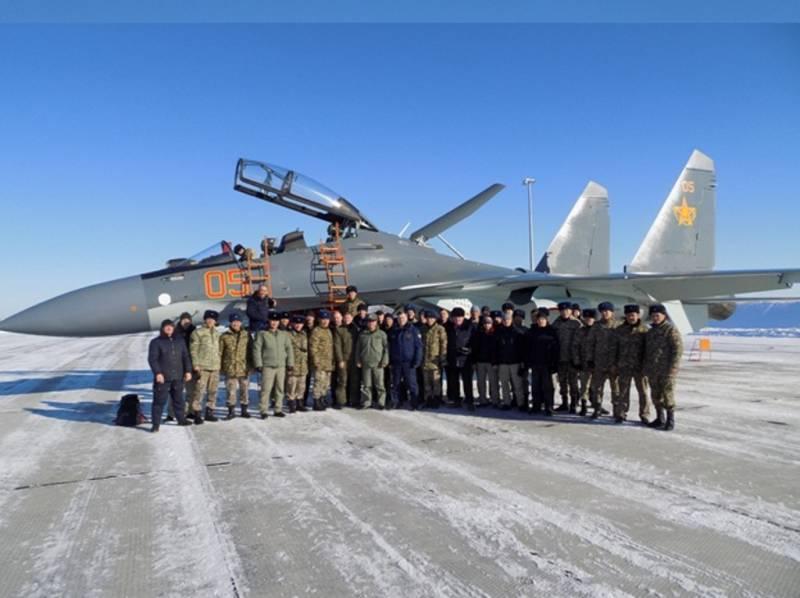 В Казахстан поставлена вторая партия Су-30СМ