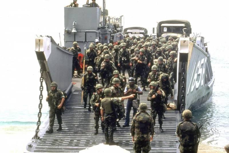 Строители против спецназа, или Гренадское позорище