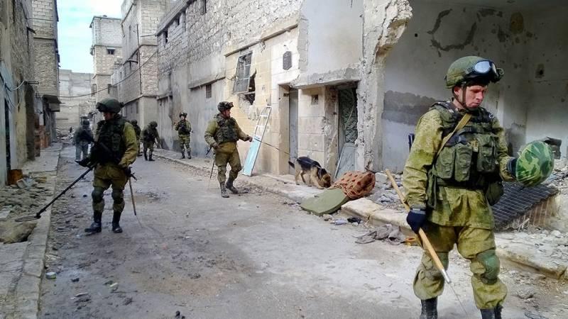 В Восточном Алеппо разминировано около 1 тысячи гектаров