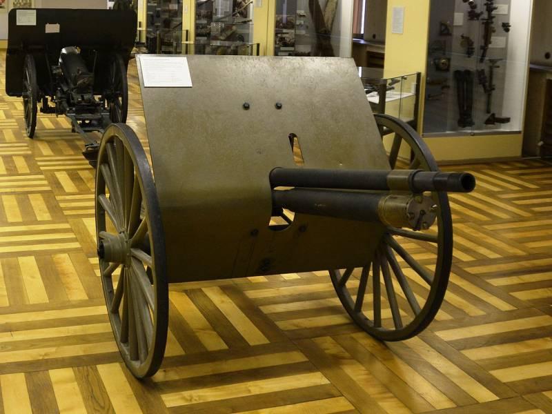 Автоматическая пушка С.Н. Макклина. Американское орудие для российской армии