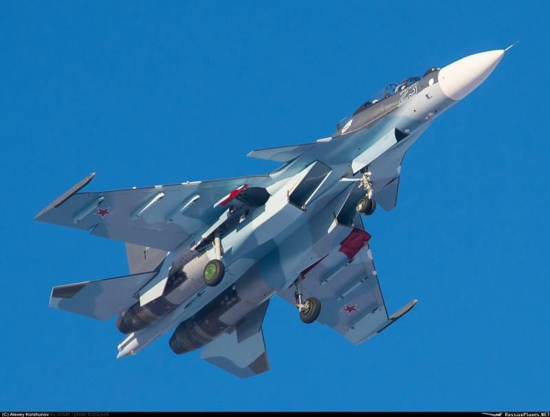 Авиация СФ получила первые Су-30СМ