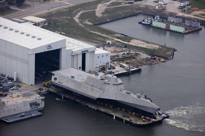 В США завершены испытания очередного корабля прибрежной зоны