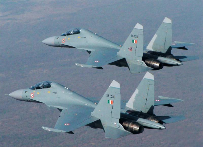 Индийские ВВС намерены в течение 10 лет принять на вооружение до 250 истребителей