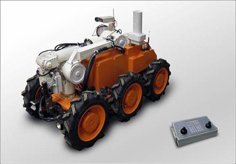 В России создан робототехнический комплекс для работы в зоне радиационного заражения