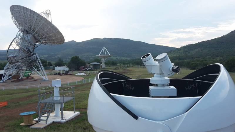 Роскосмос завершил установку системы «Сажень-ТМ» в ЮАР