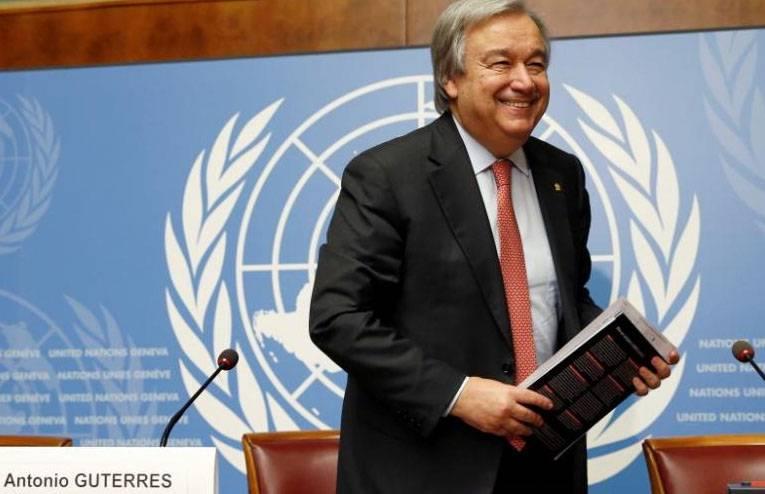 В должность вступает новый генсек ООН Антониу Гуттериш