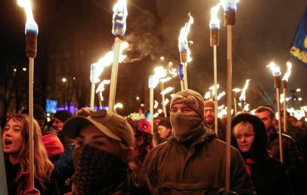 Очередной бандеровский шабаш в Киеве