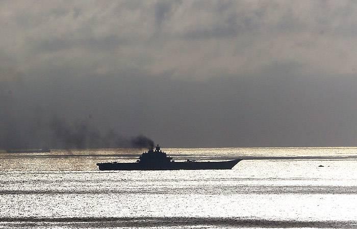 «Адмирал Кузнецов» может вернуться из Средиземноморья в январе