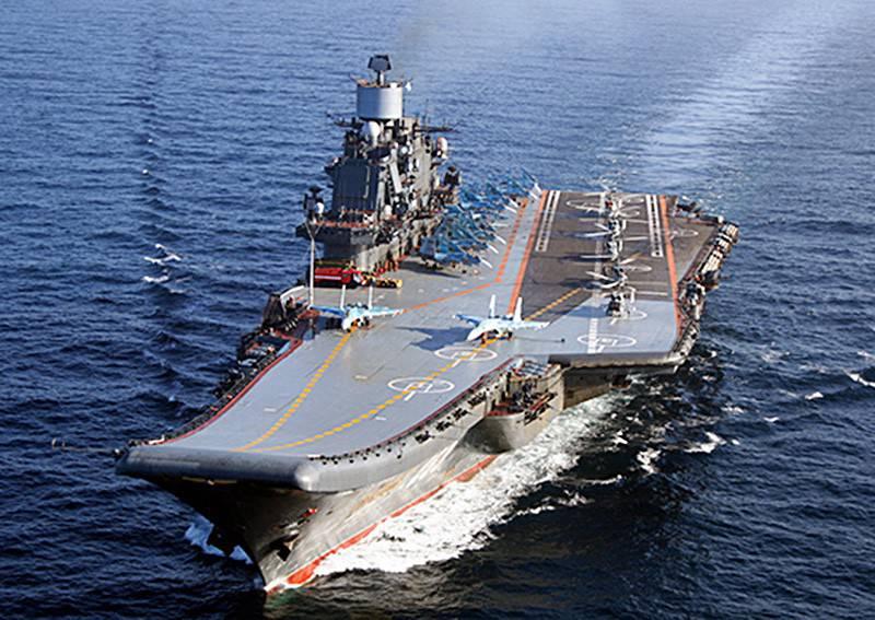 Работа авиации «Адмирала Кузнецова» в Средиземном море (видео)