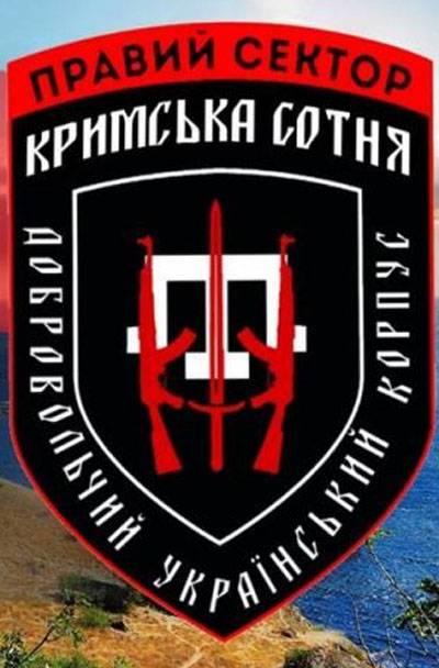 """""""Правый сектор"""" создаёт корпус """"Крымская сотня"""""""