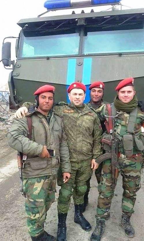 Российский «Тайфун-К» замечен в Сирии