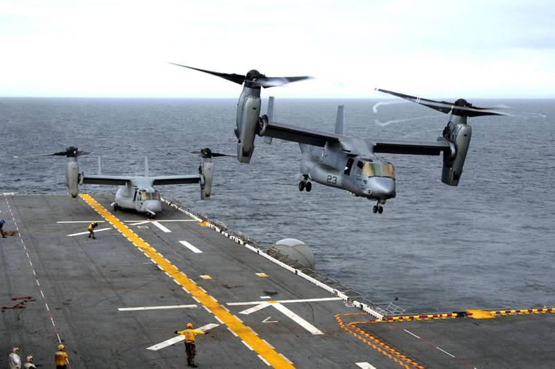 ВМС США получат модернизированные конвертопланы
