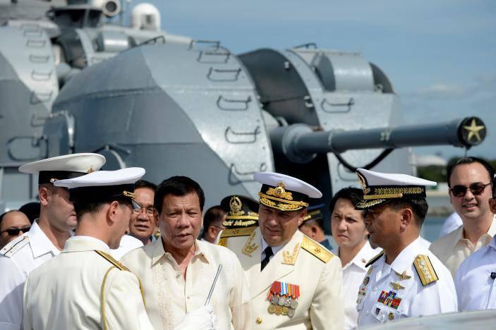 Президент Филиппин назвал Россию защитником и союзником