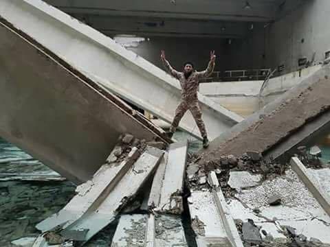 Черный сирийский Новый год