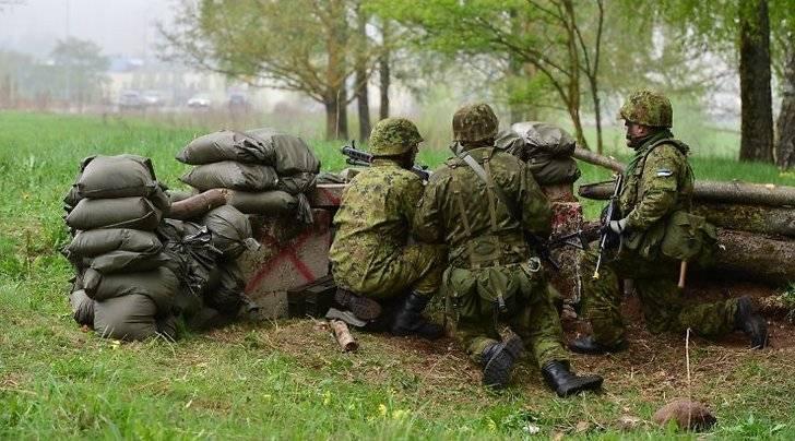 В Эстонии пройдет масштабное 3-недельное учение «Весенний шторм»