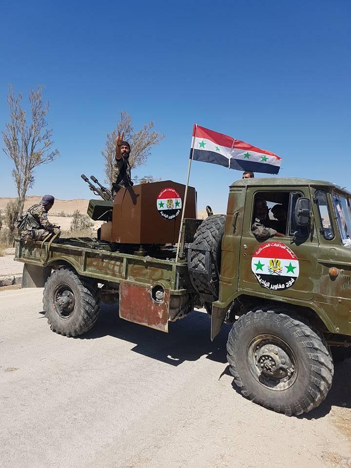 Легендарные ГАЗ-66 продолжают службу с Сирии