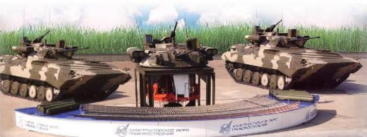 Установка боевого отделения «Бережок» увеличит эффективность российских БМП-2 в три раза