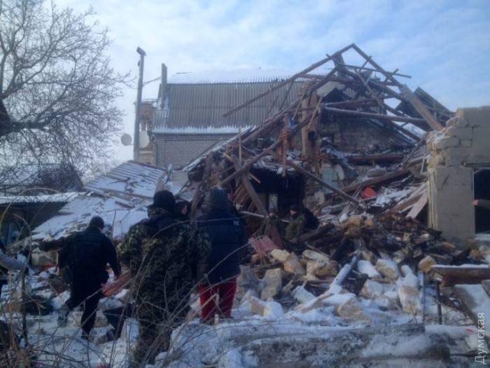 """Боевик """"Правого сектора"""" подорвал дом в Одессе"""