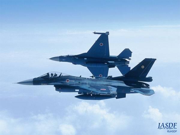 Истребители ВВС Японии поднимались на перехват 8 самолётов ВВС Китая
