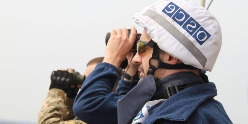 """ОБСЕ """"разглядели"""" украинские ЗРК и танки"""
