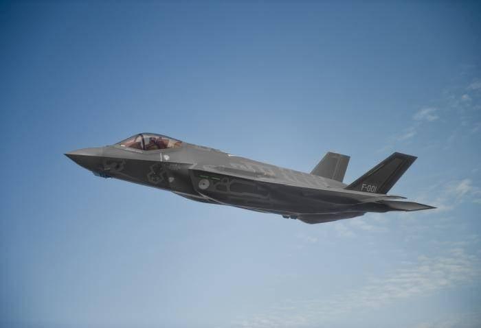 F-35 направлены на авиабазу США в Японии