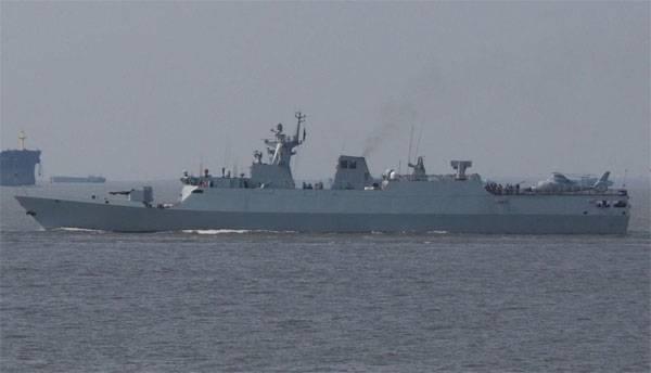 """В Шанхае спущен на воду очередной корвет класса """"Цзяндао"""" для ВМС КНР"""