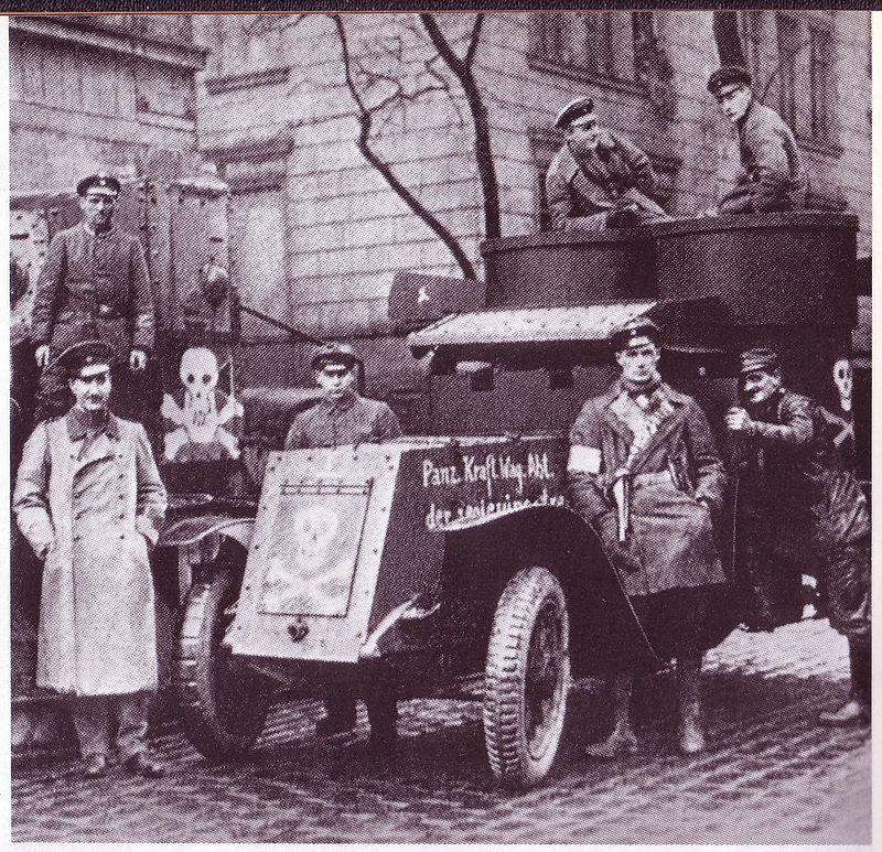 Как убивали спартакистов. Кровавое подавление Январского восстания в Берлине
